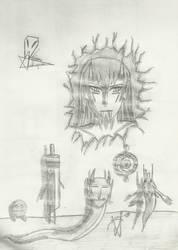 Izanagi's spirits by MrChiron