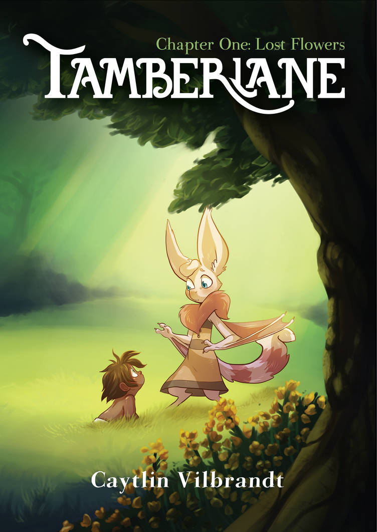 Tamberlane: Chapter 1 Cover by Pixel-Prism