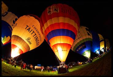 Bristol Balloon Fiesta 2012 by fatdeeman