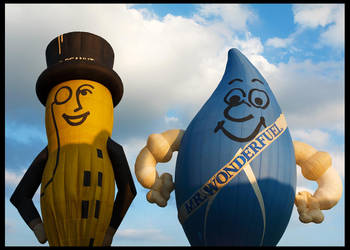 Mr Peanut and Mr Wonderfuel by fatdeeman