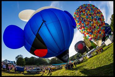 Bristol Balloon Fiesta 2014 by fatdeeman