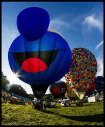 Bristol Balloon Fiesta 2014 Part 2 by fatdeeman