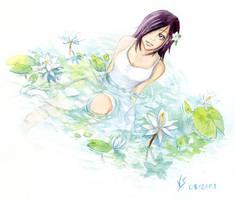 Nagi-Chrome and Lotus by Vassantha