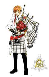Celtic Hero by Vassantha