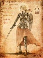 Jeanne d'Arc by Vassantha