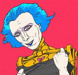 Conceptual Android Portrait by AzizAlaricAmitai