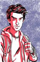 Andrew Garfield Peter Parker by BloodySamoan