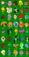 Green Lantern Corps heads by BloodySamoan