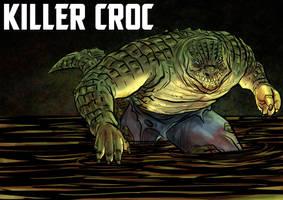 DDF2013 - Day 11: Killer Croc by BloodySamoan