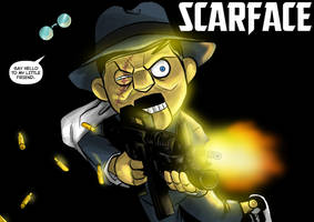 DDF2013 - Day 12: Scarface by BloodySamoan
