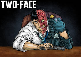 DDF2013 - Day 15: Two-Face by BloodySamoan