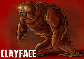 DDF2013 - Day 16: Clayface by BloodySamoan