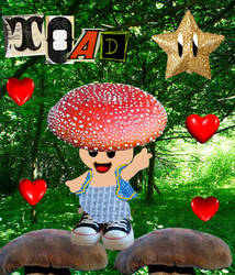 Toad is the Best Shroom of All by slorgmasterrox