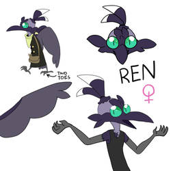 Ren thingy by WolftheTrain