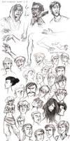 Sketchbook Dump 1.0 by sevenluck