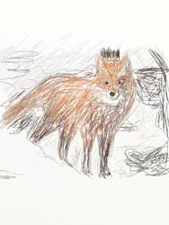 The Fox 2 by majykwolfe