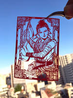 Paper Cutting Art : Rey by Yuki-Shibaura