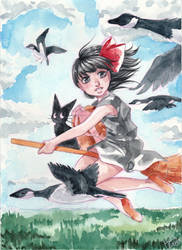 Kiki s Delivery Service by Little-Roisin