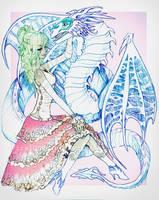 Dragon Princess by CosmicVirus