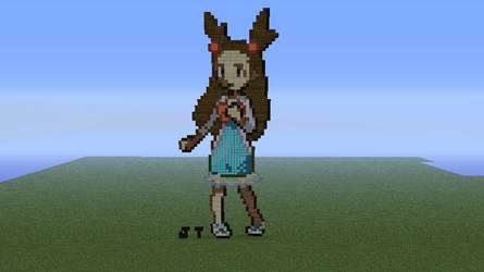 Jasmine Minecraft Sprite by HaloFreak001