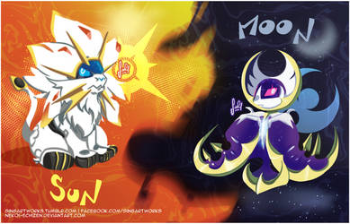 Sun and Moon by Nekoi-Echizen
