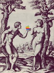 Adam + Eve by quartertofour