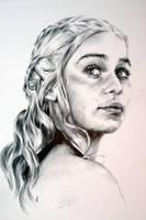 Daenerys Drawing II by the-kakerlake