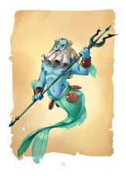 Poseidon by bib0un