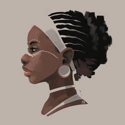 African by bib0un