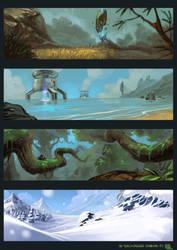 Landscapes S01 by bib0un