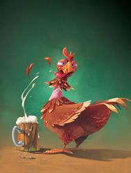 Chicken by bib0un
