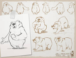 Grumpy bear Part2 by bib0un