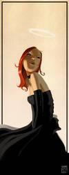Goth girl by bib0un