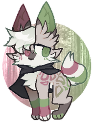 forest guy thing adopt (closed) by Chewzers