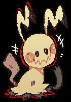 Mimikyu by Chewzers