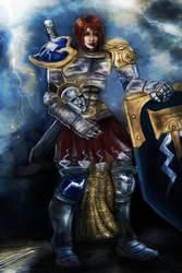 Warhammer Age of Sigmar: Female Stormcast Eternal by SynAethra