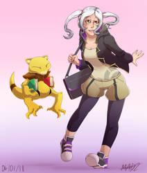 Fire Emblem Pokemon Trainer AU - F!Robin by Mad-Revolution