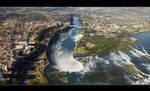 Flight Over Niagara by IgorLaptev
