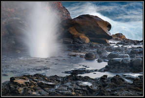 Just About Nakalele Blowhole by IgorLaptev