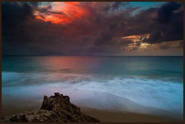 Burning Sky of Dominican by IgorLaptev
