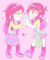 Ichiko and Karako palette by Puppiii