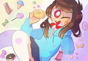 prismatic lollipops by Puppiii