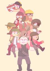 mercenaries by Puppiii