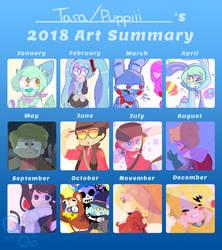2018 Art Summary by Puppiii