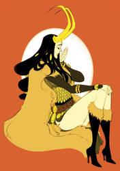 Lady Loki by parapo