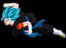 Vegetto Super Saiyan Blue (Dragon Ball Heroes) by YobuGV