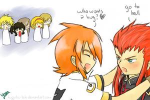ToA - Who wants a hug by Kugutsu-teki