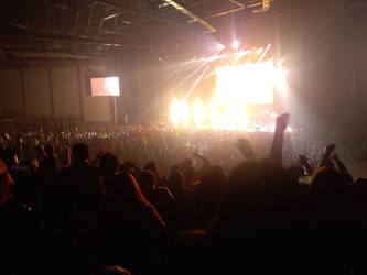 The concert...  by LittleDrawerMX