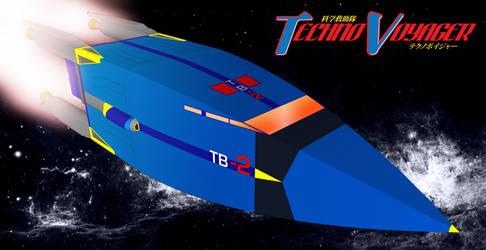 TB-2 in Space by ShojiAmasawa