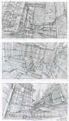 Nightfall City sketches by Jett0